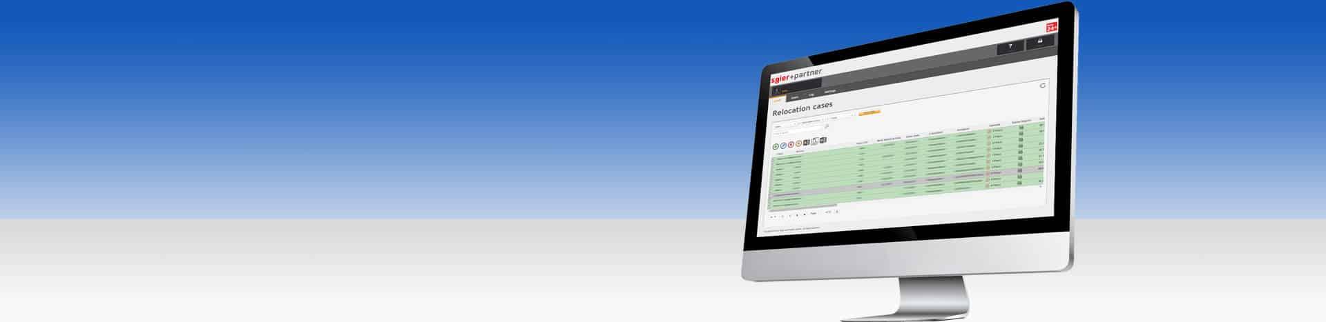 Relo24 ist die Software von Sgier + Partner für Relocation Programme